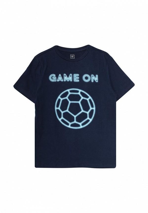 Купить Футболку Gap синего цвета