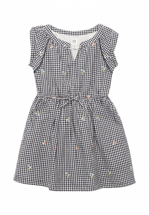 Купить Платье Gap, GA020EGAHPI8, черный, Весна-лето 2018