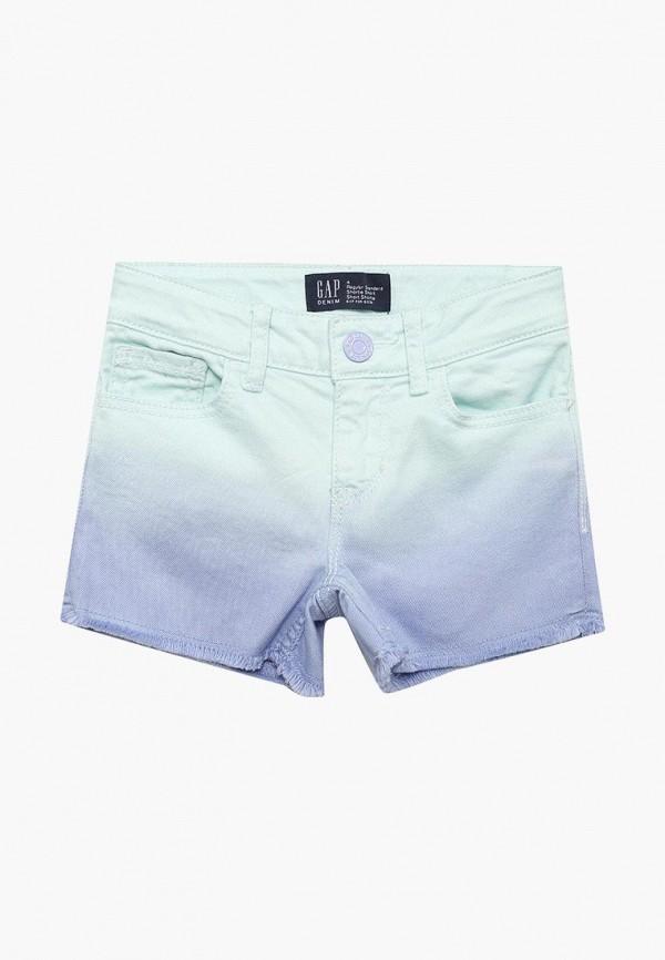 Купить Шорты джинсовые Gap, GA020EGAHPQ0, голубой, Весна-лето 2018