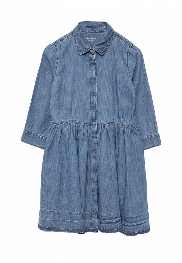 Фото - Платье джинсовое Gap синего цвета