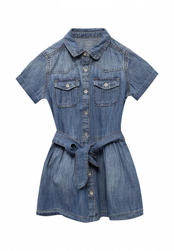 Платье джинсовое Gap Gap GA020EGVBR39 джинсовое платье