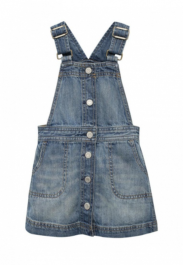 Платье джинсовое Gap Gap GA020EGVBR46 джинсовое платье