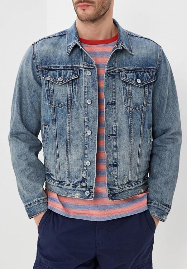Купить Куртка джинсовая Gap, GA020EMAGVM4, голубой, Весна-лето 2018