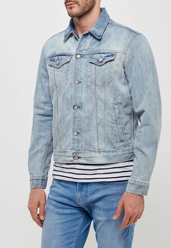 Купить Куртка джинсовая Gap, GA020EMAGVM5, голубой, Весна-лето 2018