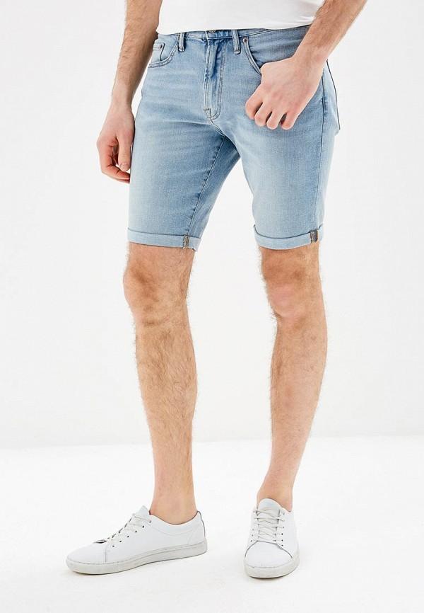 Купить Шорты джинсовые Gap, GA020EMAGWY2, голубой, Весна-лето 2018
