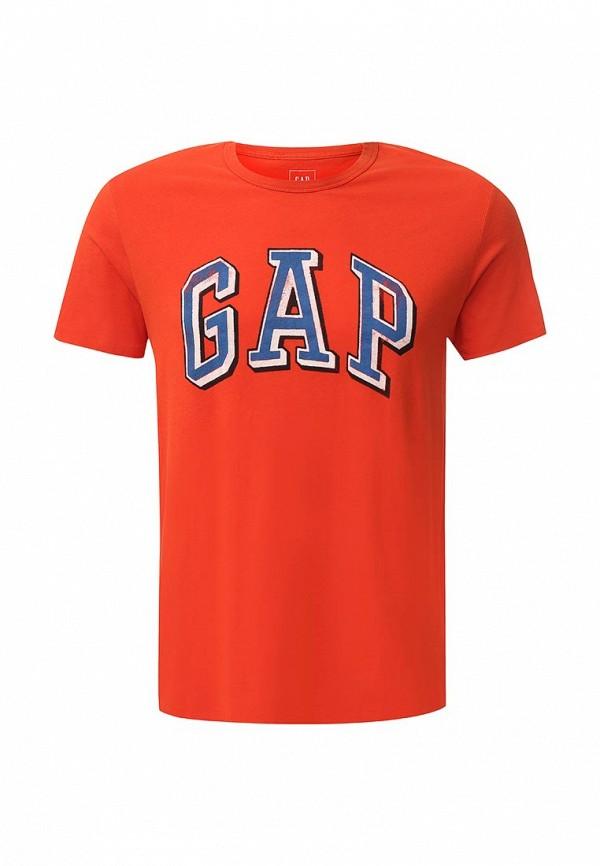 Футболка с надписями Gap 323447
