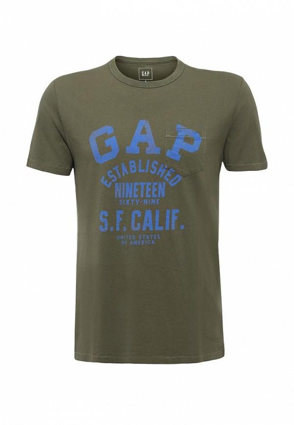 Футболка с надписями Gap 325715