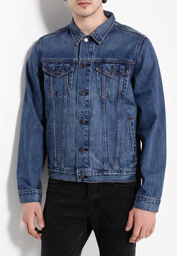 Купить Куртка джинсовая Gap, GA020EMPBM26, синий, Весна-лето 2018
