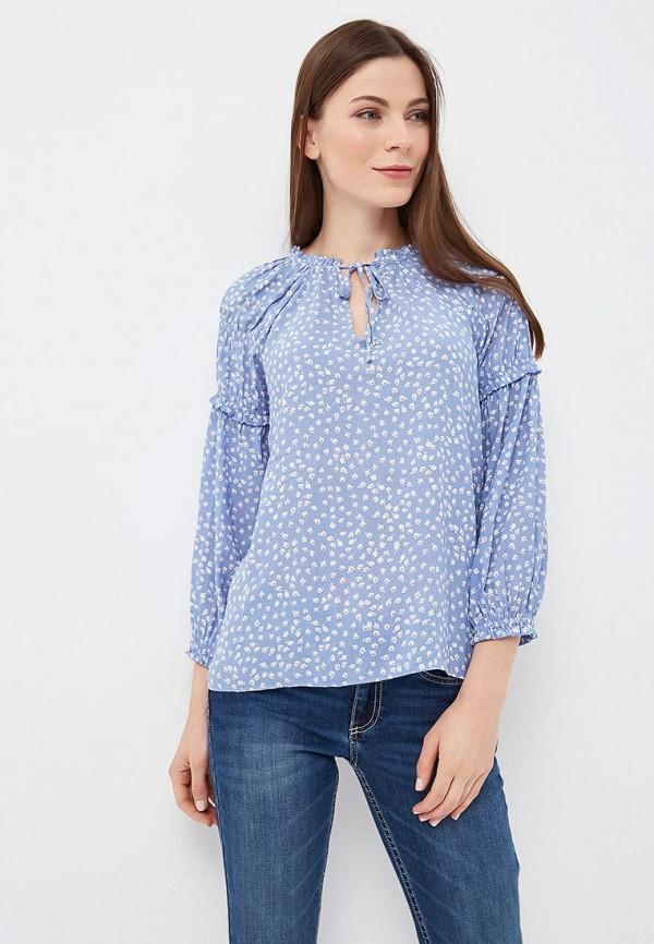 Купить Блуза Gap, GA020EWAKPB6, голубой, Весна-лето 2018