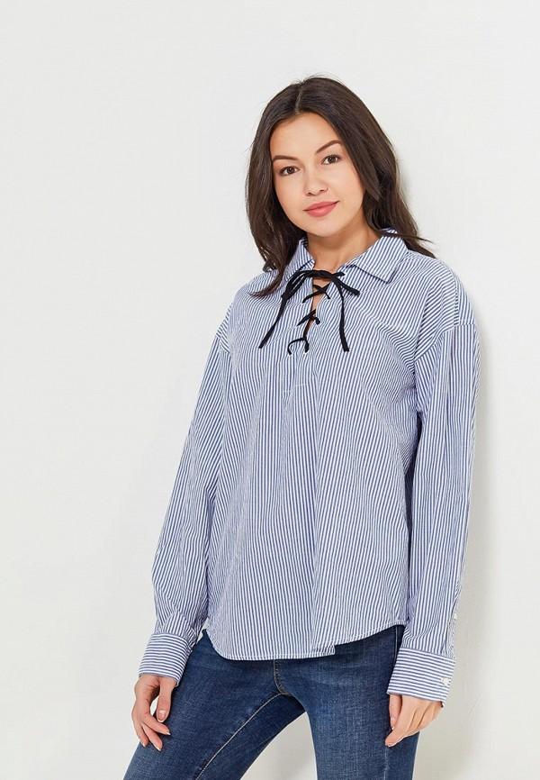 Купить Блуза Gap, GA020EWAKPC2, голубой, Весна-лето 2018