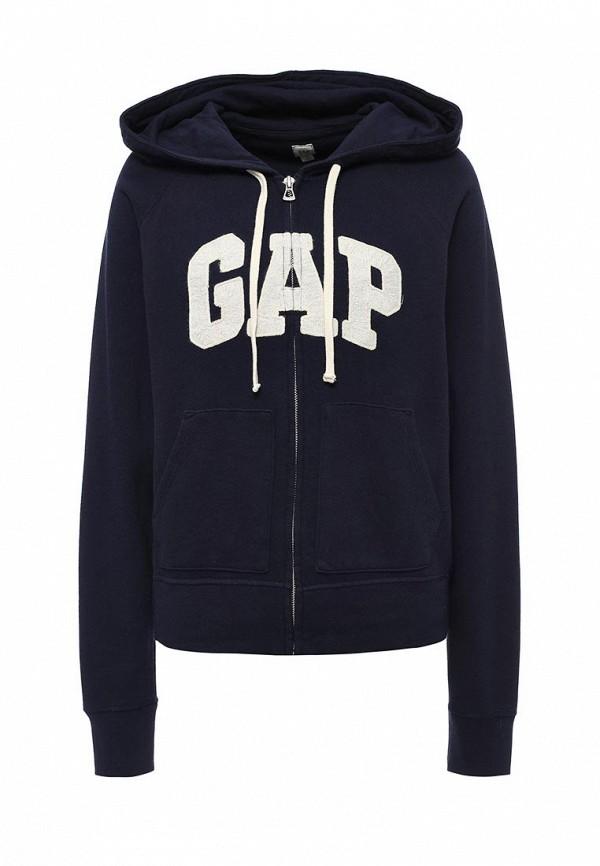 Купить женскую толстовку или олимпийку Gap синего цвета