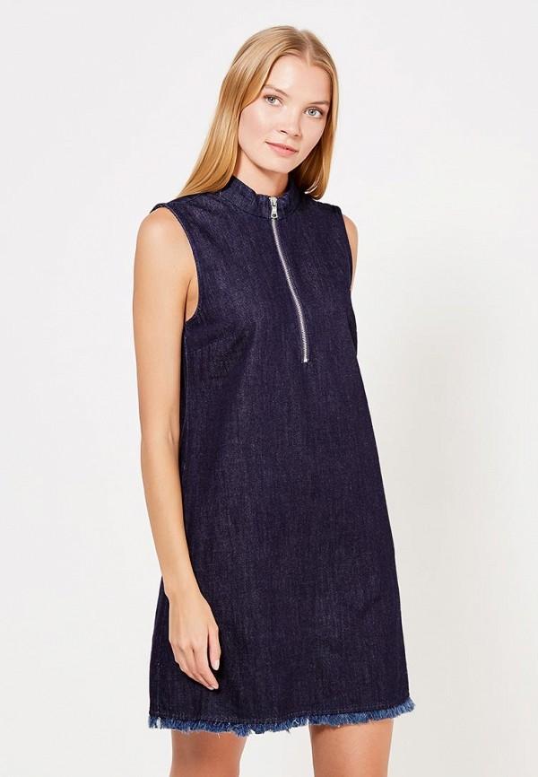 Платье джинсовое Gap Gap GA020EWVDI95 платье gap gap ga020ewxan87