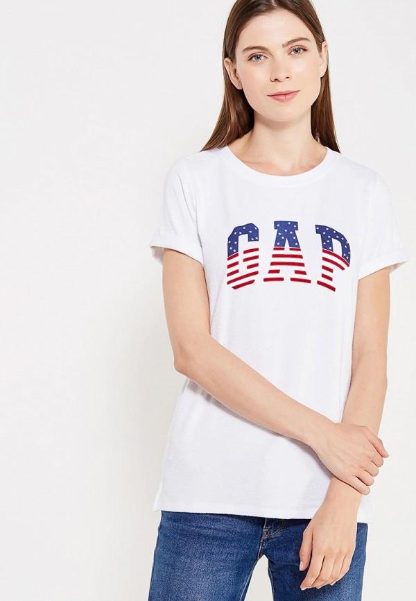 Футболка Gap Gap GA020EWWUQ43 футболка gap gap ga020egpbk33