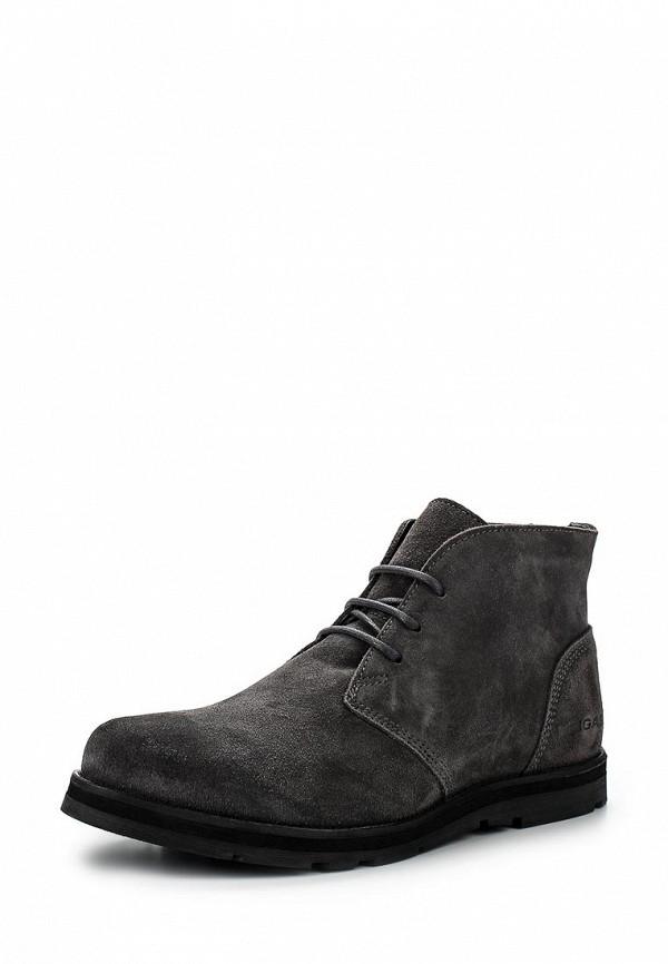 Мужские серые осенние ботинки