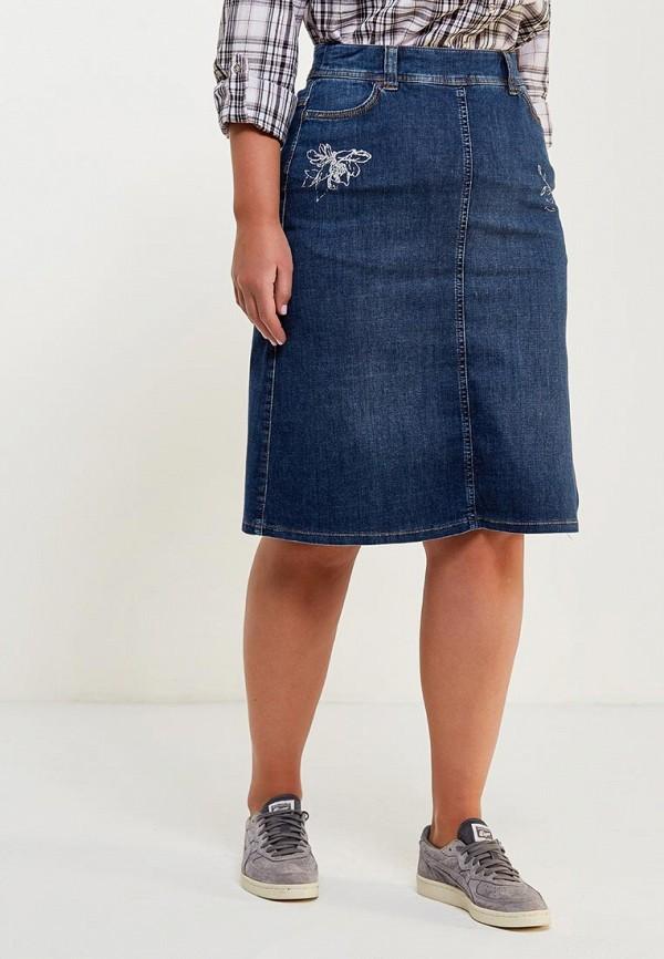 Юбка джинсовая Gerry Weber Gerry Weber GE002EWAENQ3 рубашка джинсовая gerry weber gerry weber ge002ewyhb86