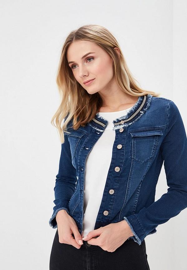 Куртка джинсовая Gerry Weber Gerry Weber GE002EWBDDL0 рубашка джинсовая gerry weber gerry weber ge002ewyhb86