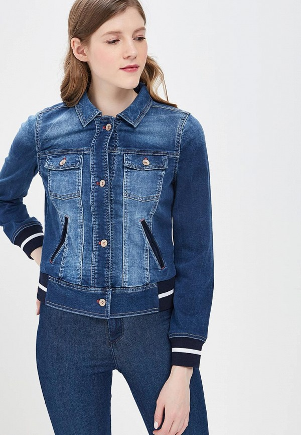 Куртка джинсовая Gerry Weber Gerry Weber GE002EWBDDO6 пуловер gerry weber gerry weber ge002ewwra57