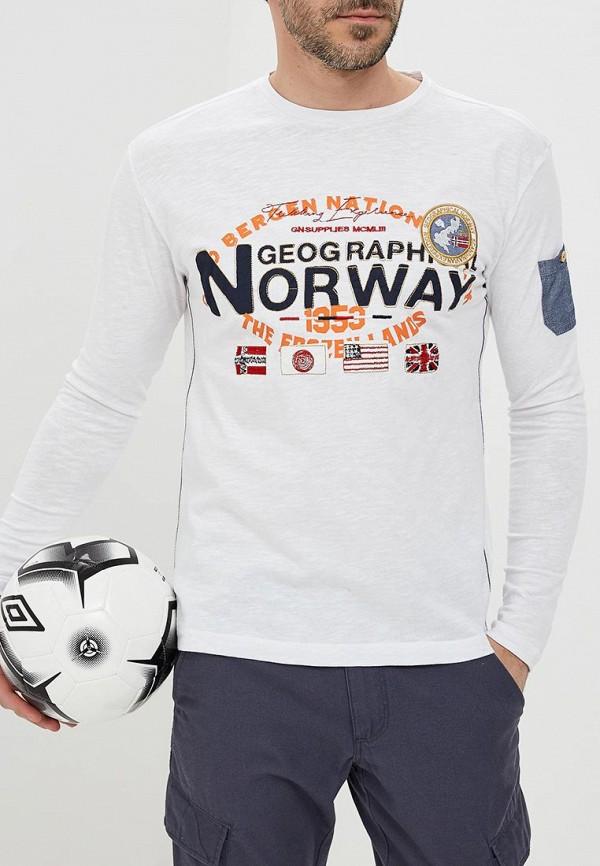 Фото Лонгслив Geographical Norway. Купить с доставкой