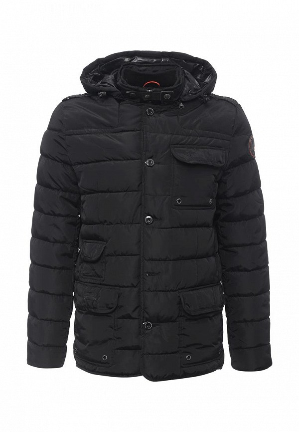 Куртка Geographical norway Binyane_hood_man_black