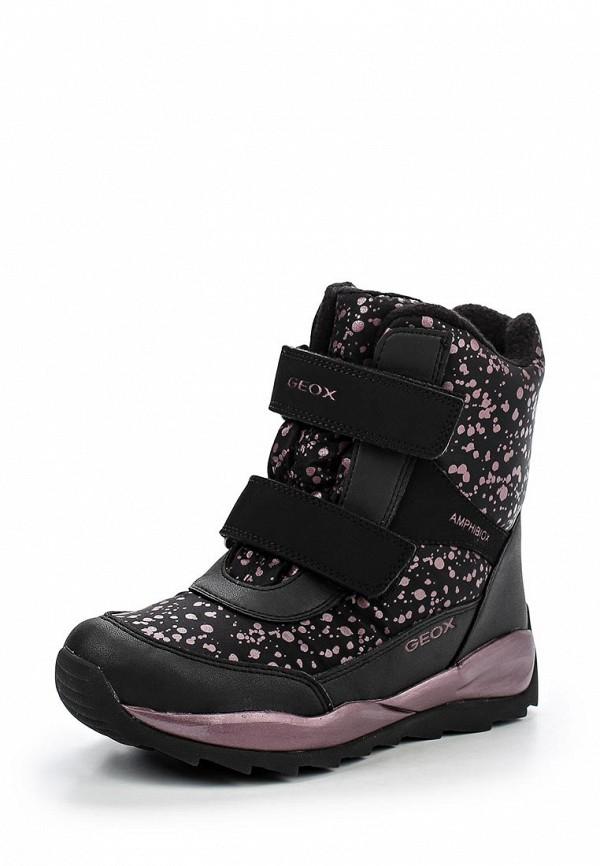 Ботинки для девочек Geox J642BD0MN50C9999