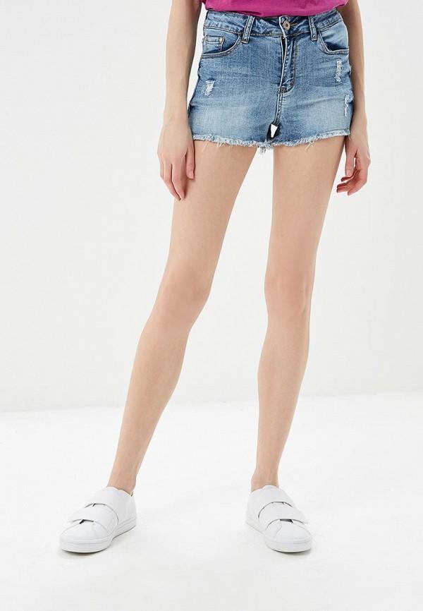 Купить Шорты джинсовые G&G, GG001EWBFQI5, голубой, Весна-лето 2018