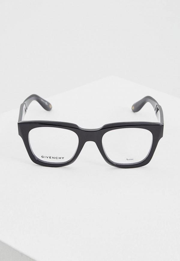 Фото 9 - Оправа Givenchy черного цвета
