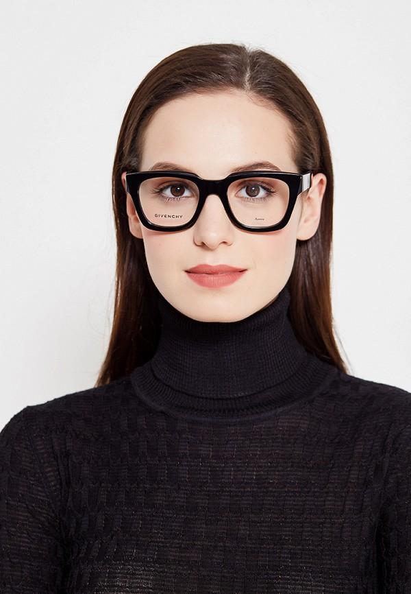 Фото 4 - Оправа Givenchy черного цвета
