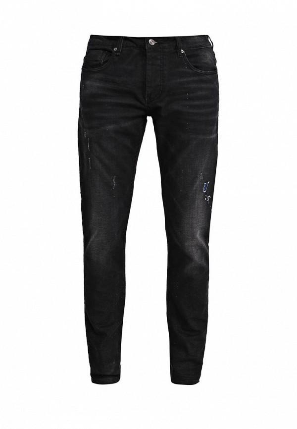 Купить мужские джинсы Gianni Lupo черного цвета
