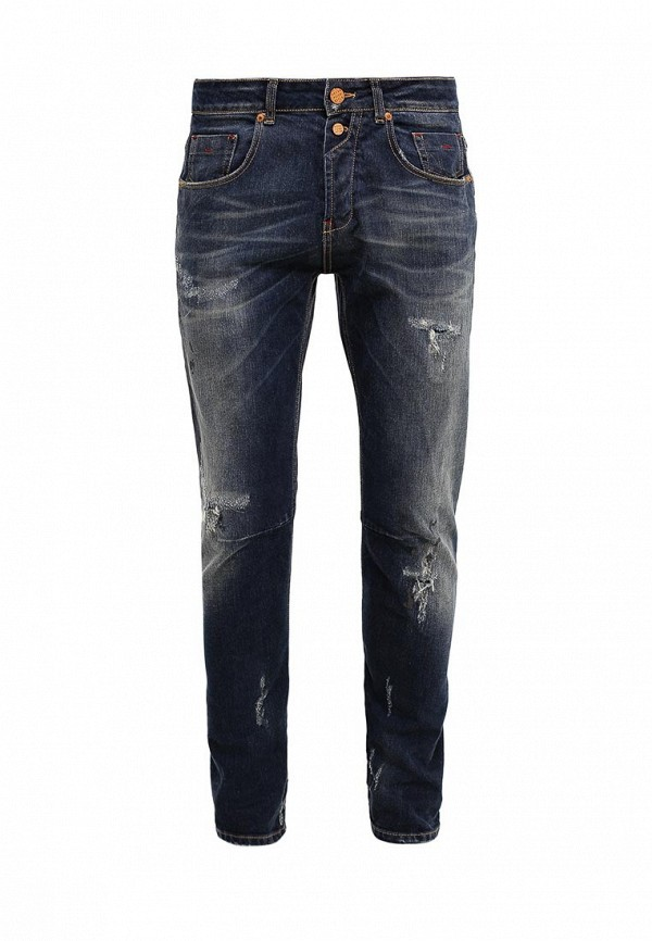 Купить мужские джинсы Gianni Lupo синего цвета