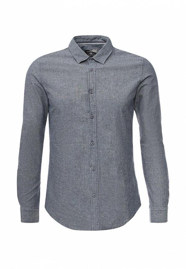 Купить мужскую рубашку Gianni Lupo синего цвета