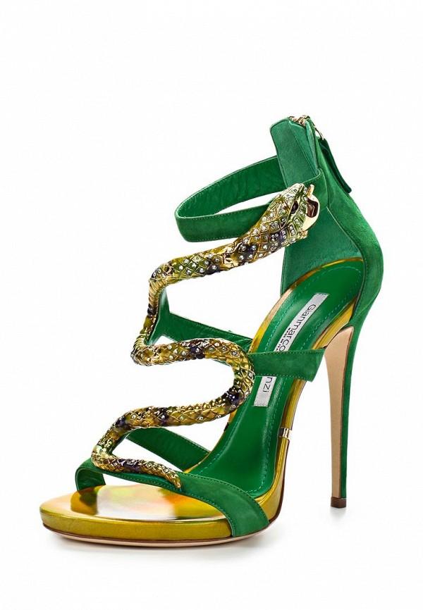 Босоножки на каблуке Gianmarco Lorenzi A4D6M0681