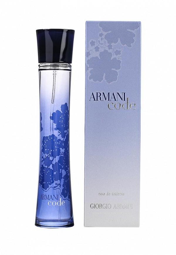 Туалетная вода Giorgio Armani ARMANI CODE DONNA 75 мл