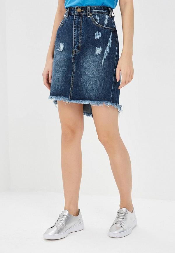 Фото Юбка джинсовая Glamorous. Купить с доставкой
