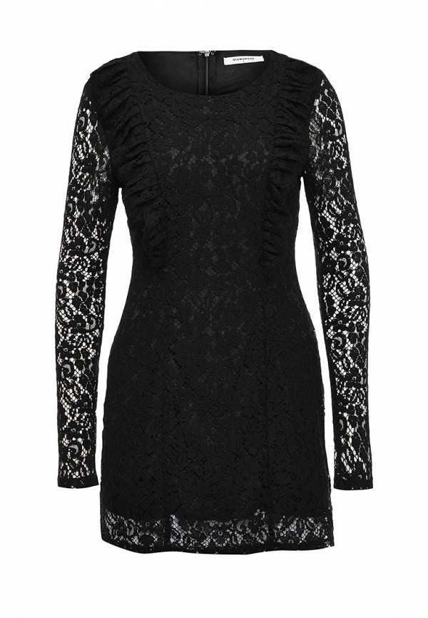 цена  Платье Glamorous Glamorous GL008EWJDZ71  онлайн в 2017 году