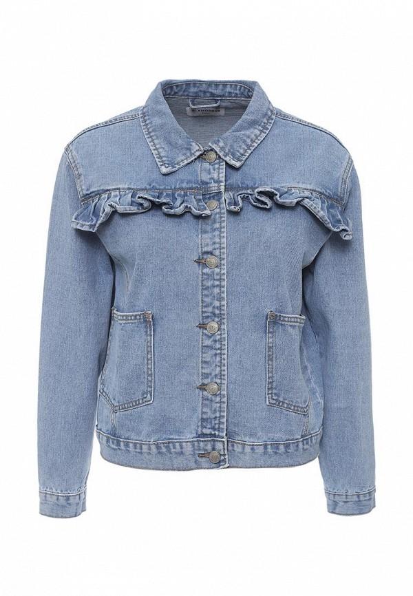 Куртка джинсовая Glamorous Glamorous GL008EWQPJ82 майка glamorous glamorous gl008ewqpk25