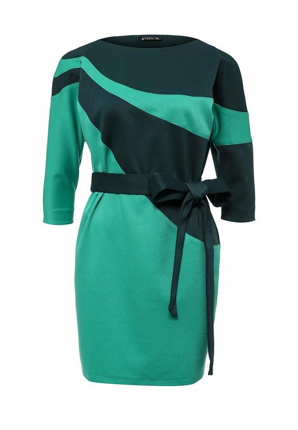Платье-миди Gloss 18319(08)