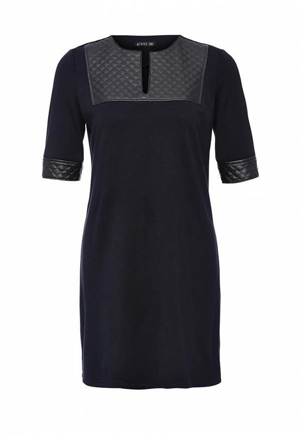 Платье-мини Gloss 18348(09)