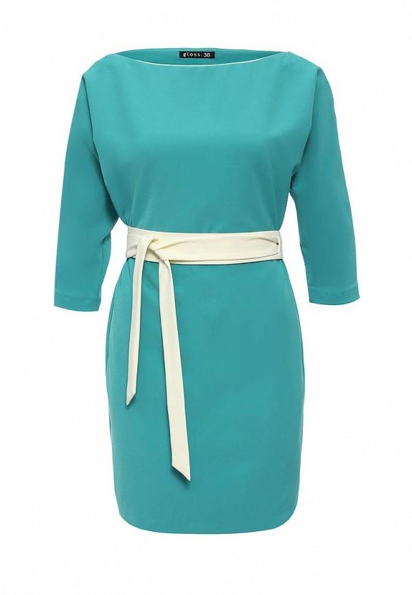 Платье-миди Gloss 19332(08)