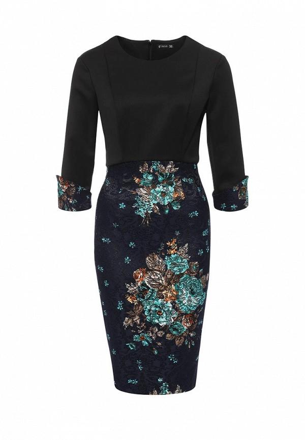 Платье-миди Gloss 19303(08)