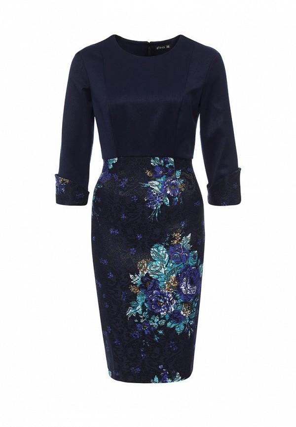 Платье-миди Gloss 19303(09)