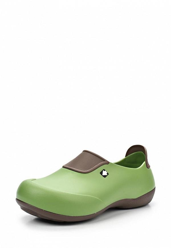 Резиновые ботинки Gow. Цвет: зеленый