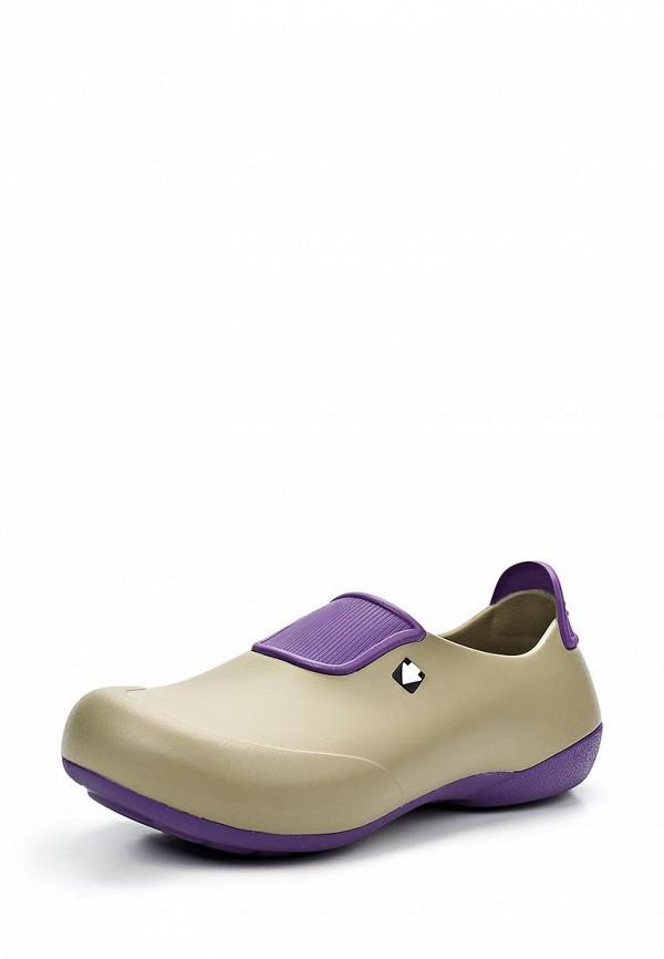 Резиновые ботинки Gow. Цвет: бежевый
