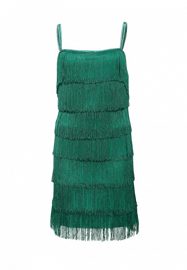 Зеленое платье Goddiva