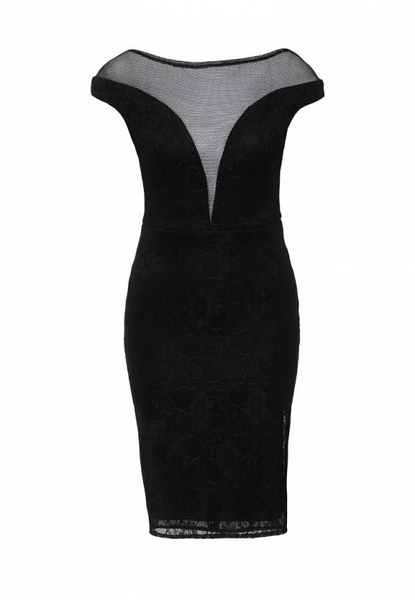 Платье-миди Goddiva DR649