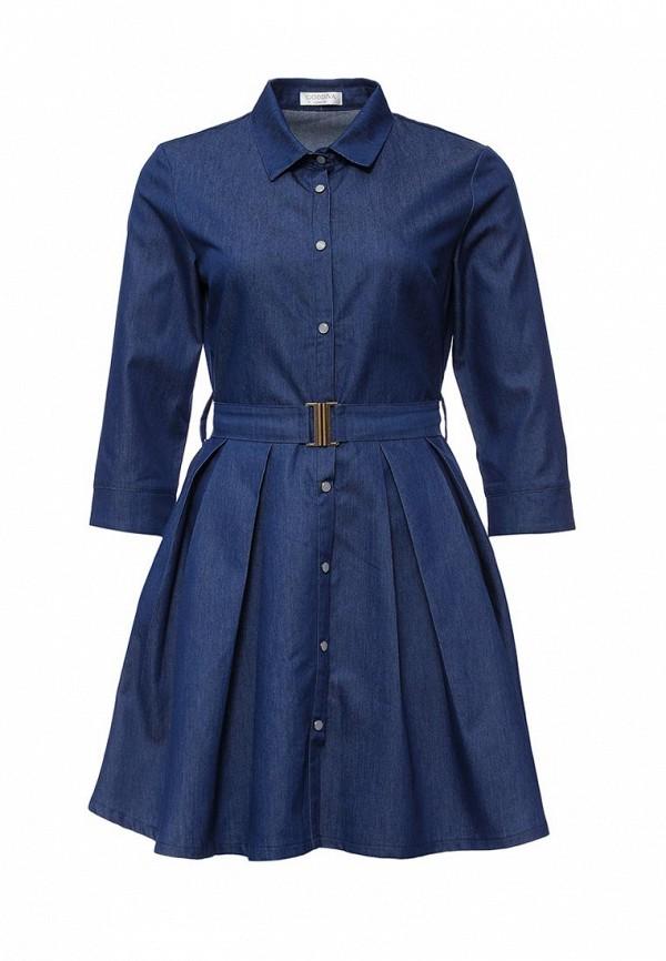 Платье-миди Goddiva DR716