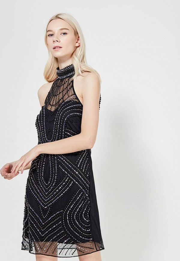 Платье Goddiva Goddiva GO014EWXRA27 платье goddiva size plus goddiva size plus go015ewmpl70