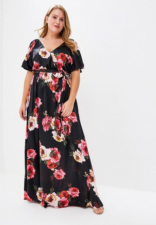 Платье Goddiva Size Plus Goddiva Size Plus GO015EWAVBH0 платье goddiva size plus goddiva size plus go015ewavbh8