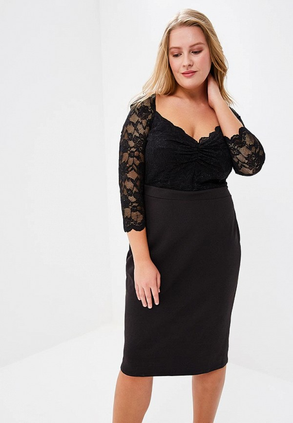 Платье Goddiva Size Plus Goddiva Size Plus GO015EWAVBH4 платье goddiva size plus goddiva size plus go015ewavbh8