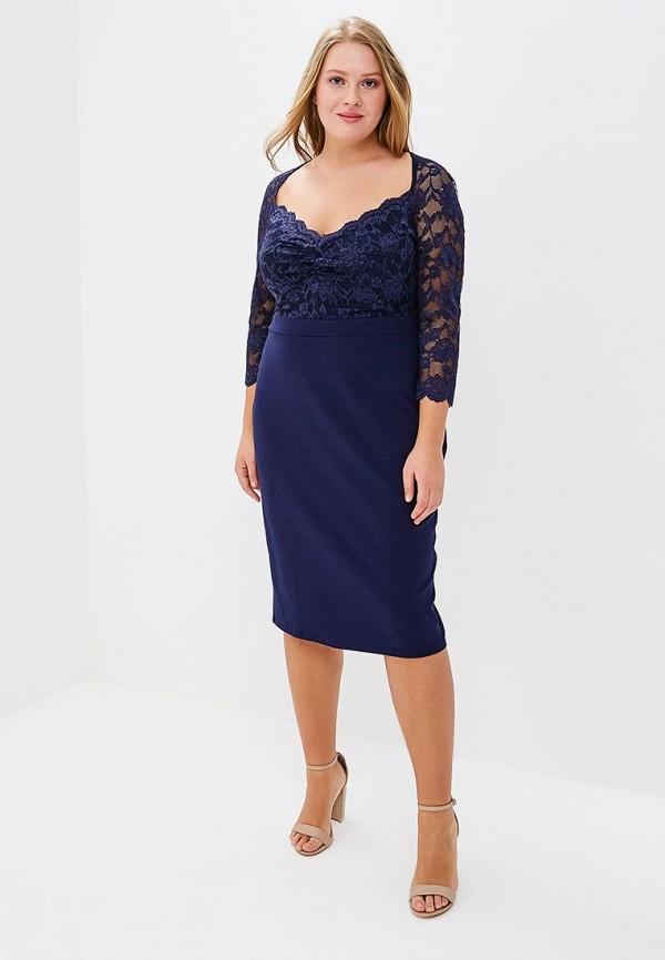 Платье Goddiva Size Plus Goddiva Size Plus GO015EWAVBH5 платье goddiva size plus goddiva size plus go015ewavbh8