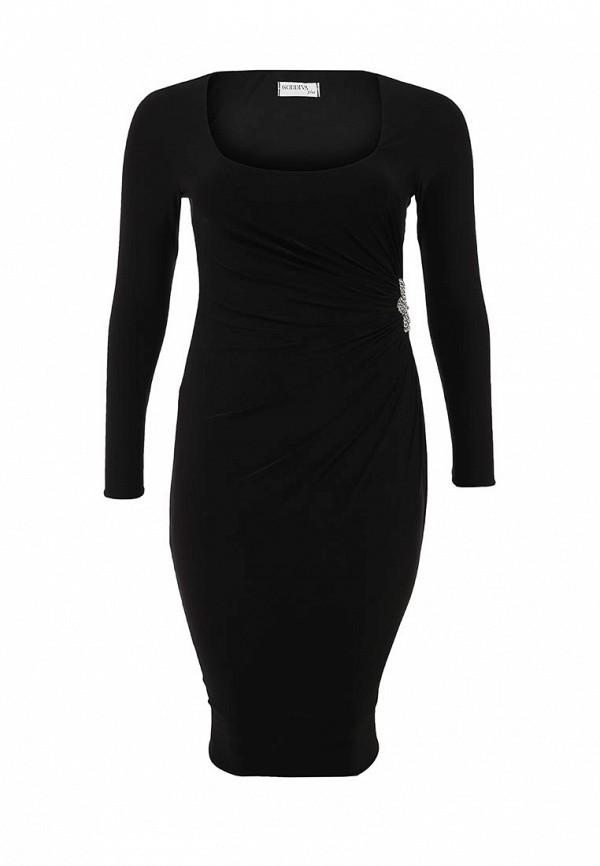 Платье Goddiva Size Plus D2180